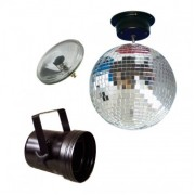 American DJ MBS-300 Mirrorballset 30