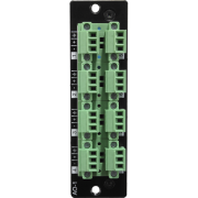 AO-1 8 Channel analog line level output card, 100 MIPS DSP onboard
