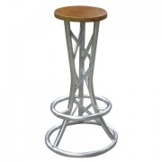 Alu Lite Truss stool trio