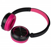 JB-Systems HeadZ Fuchsia Headphone with mic (Android+iPhone) + share output