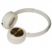 JB-Systems HeadZ White Headphone with mic (Android+iPhone) + share output
