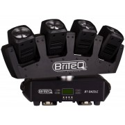Briteq BT-DAZZLE Endless rotating multibeam effect: 4x 9W White LED