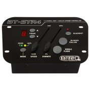 Briteq BT-STR4 Strobe remote:DMX + Analog, 4ch, manual + audio