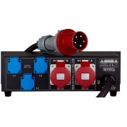 Briteq PD-63A Mk2 / GER-NL Power Distributor 63A, OUT:2x32A+3x16A (GER-NL)