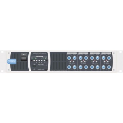 Cloud 46/120T-MEDIA - 4 Zone Mixer Amplifier (100 Volt) Four Independent Zone Integrated Mixer Ampli