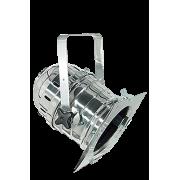 DTS-PAR 64 CLASSIC SHORT LUX SCHUKO chroom, met stekker, kort model