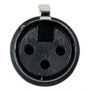 DAP N-CON XLR Plug 3P F Black