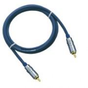 DAP RCA Connector to RCA Connector 6mm 1,5mtr