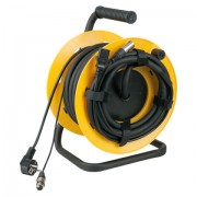 DAP Cabledrum with 20mtr cable Power/Signal