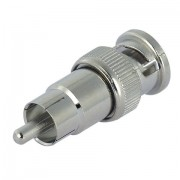 BNC Male to RCA Male Adaptor
