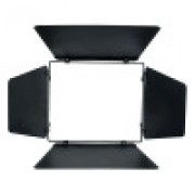 LDR 4-leaf barndoor Rima black