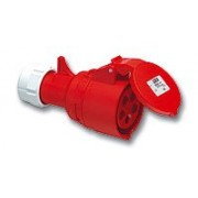 PCE CEE form 5P 16A 400Volt twist female