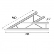Pro-truss Pro 22 Corner C 190 H 2-way horizontal 45°