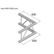 Pro-truss Pro 22 Corner C 210 H 2-way horizontal 90°