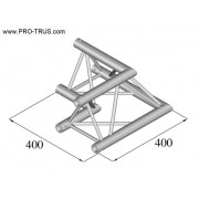 Pro-truss Pro 23 Corner C 210 2-way  90º