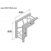 Pro-truss Pro 23  Corner C 250 2-way  90º apex in