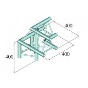 Pro-truss Pro 23 Corner C 310 3-way apex up / right