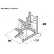 Pro-truss Pro 23 Corner C 330 3-way apex down right / right
