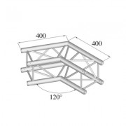 Pro-truss Pro 24 Corner C 220 2-way 120º