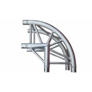 Pro-truss  Pro 34  Corner C 210 2way rounded corner 210° Prolyte compatible Heavyduty