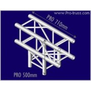Pro-truss  Pro 34  T-piece  C 350 3-way T-piece Heavy duty Prolyte compatible