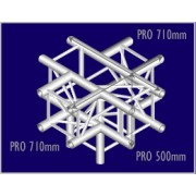 Pro-truss  Pro 34  T-piece  C 510 5-way cross Heavy duty Prolyte compatible