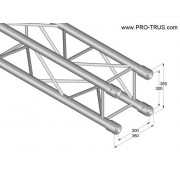 Pro-truss  Pro 364  L1000 Straight 1000 mm