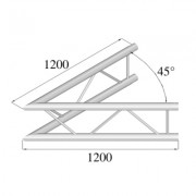 Pro-truss  Pro 42  Corner  C 190 V 2-way vertical 45¦