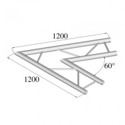 Pro-truss  Pro 42  Corner  C 200 H 2-way horizontal 60¦