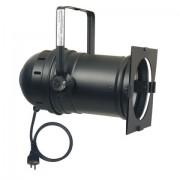 Showtec Par 64 can Long Black Termi nal,silicon cable&schucko plug