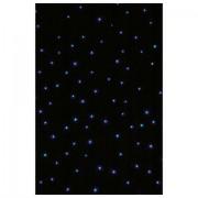 Showtec Star Sky Pro MKII 6x4m RGB White Cloth Incl Contr