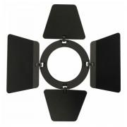 Showtec Barndoor for LED Compact studiobeam black
