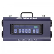 Showtec Lightbrick 4Ch Dimmingpack DMX Output 4x5A