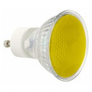 240V 50W GU10 Yellow Sylvania