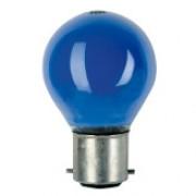 Showtec BC Bulb 240V 15W G45 B22 Blue