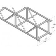 Pro-truss  Pro 524 L1000 Straight 1000 mm