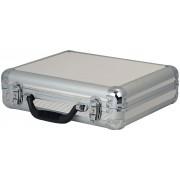DAP ACA-MIC1 Case for 7 mics Silver