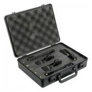 DAP DK-5 Drumset Microphone set 2 x Condenser & 3 Dynamic