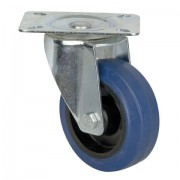 DAP Blue wheel swivel 100mm