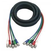 DAP 5 BNC Connector to 5 BNC Connector Professional Cable 1,5mtr