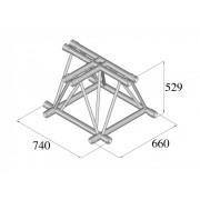 Pro-truss  Pro 524F C350 3-way  horizontal T-piece