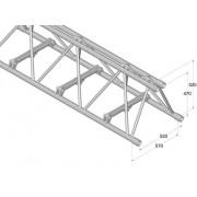 Pro-truss  Pro 524F L1200 Straight 1200 mm