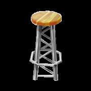 PRO-truss  Classic straight bar stool