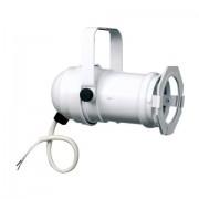 Showtec Par16 Can White Incl filterframe&G6,35 Socket, long version