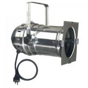 Showtec Par 64 can Long Polished Terminal,silicon cable&schucko plug